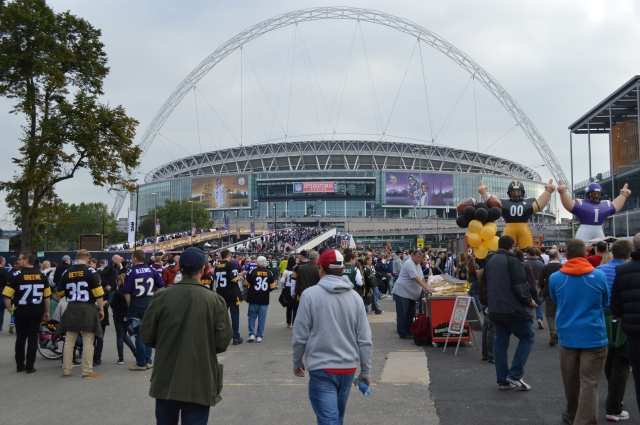 NFL International Series Steelers @ Vikings 28th September '13